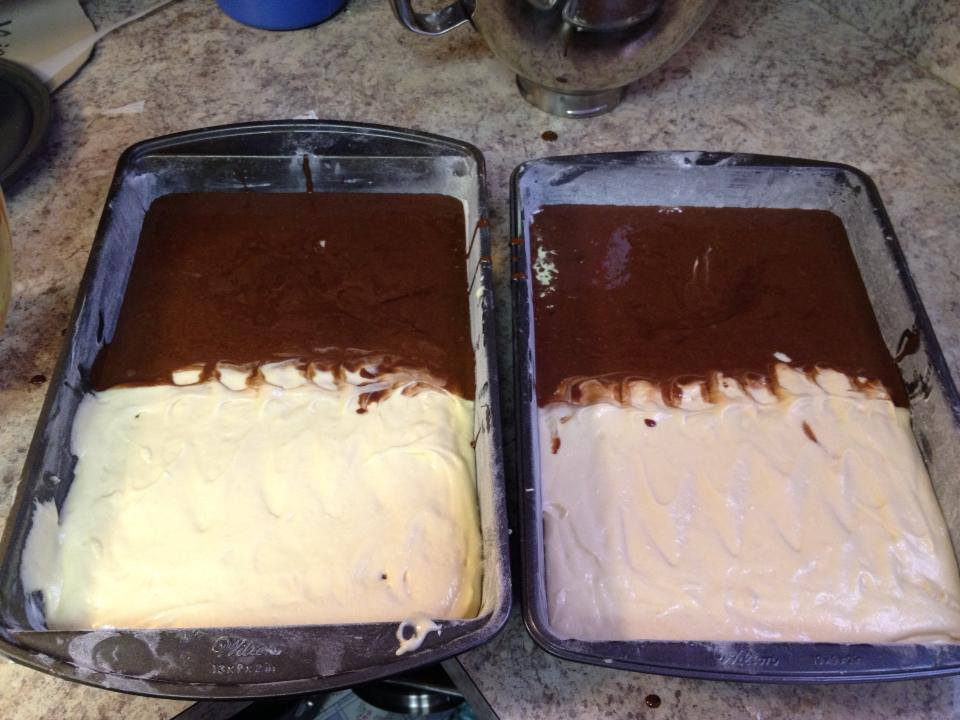 How Much Batter For X Cake Pan