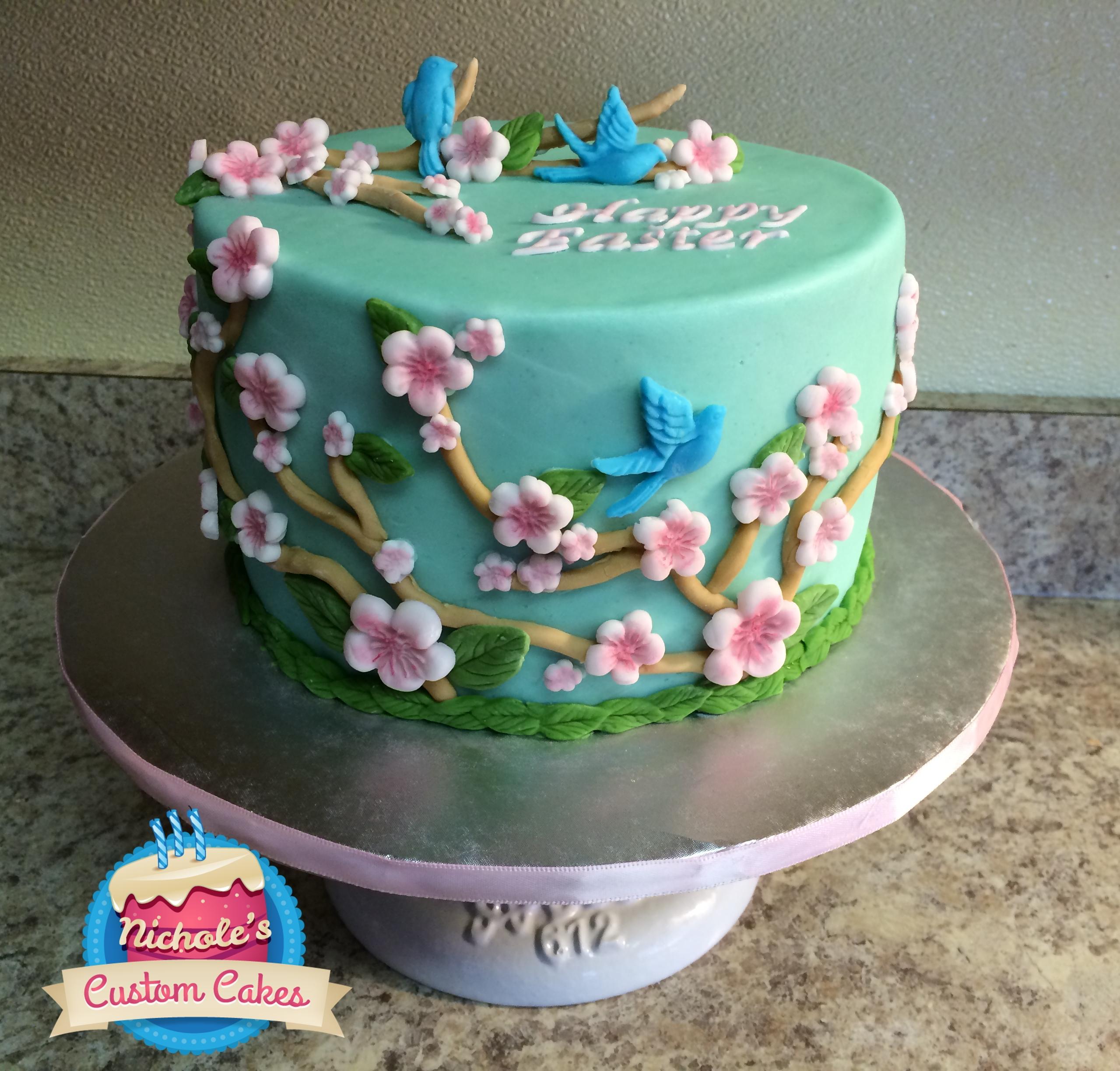 Easter Cake 2014 Nicholes Custom Cakes
