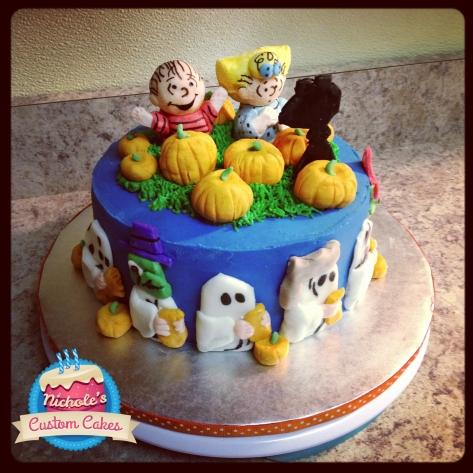 My Great Pumpkin Cake, 2011