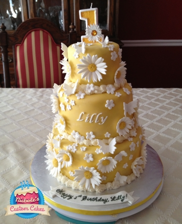 Lilly cake 6.22.13