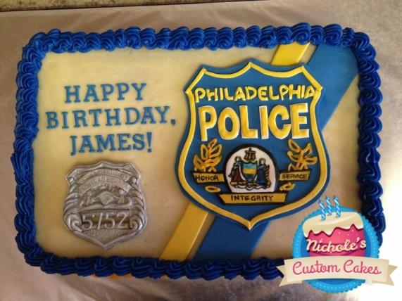 police cake 2