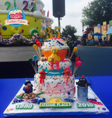 sesame street cake 2