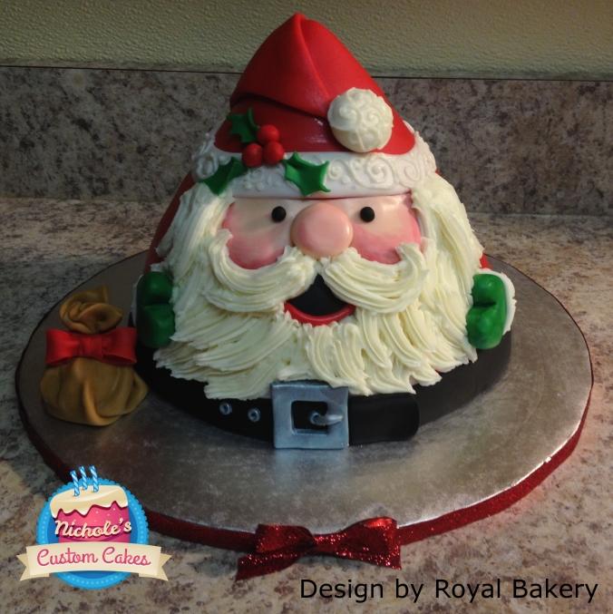 Santa Cake 2013