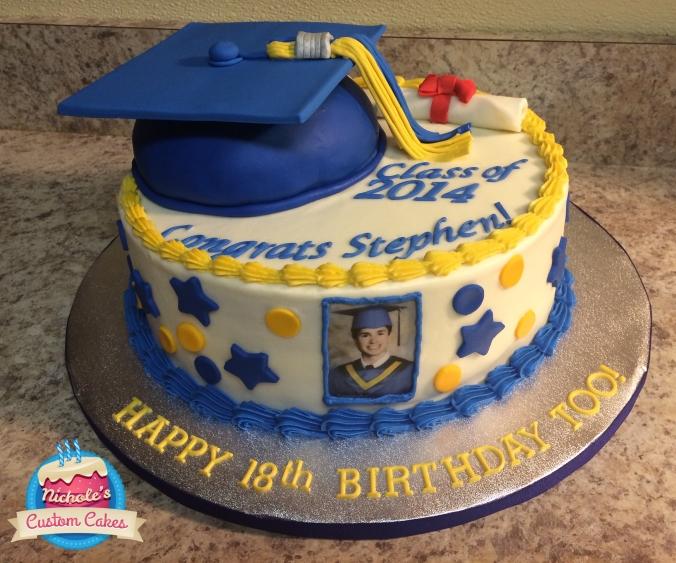 stephen graduation cake