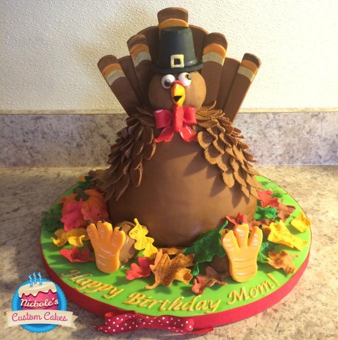turkey cake 2014
