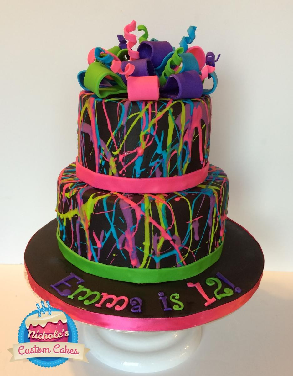 Splash Cake Nichole S Custom Cakes